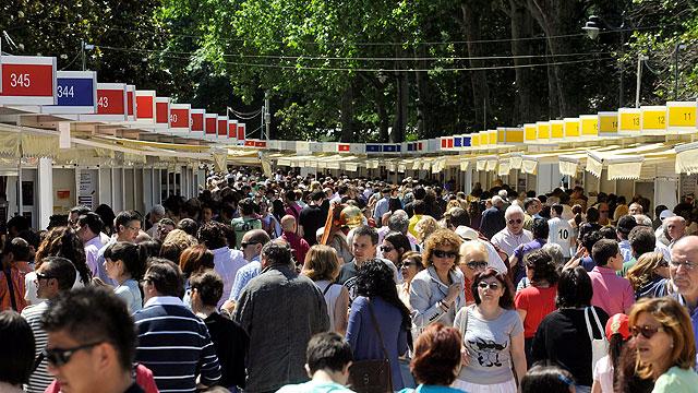 Feria del libro, Madrid