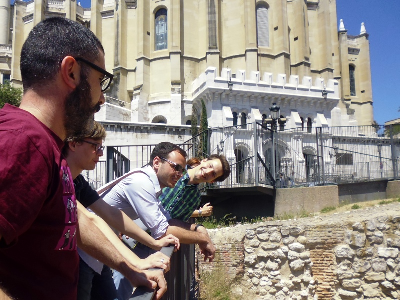 Visita guiada a la muralla árabe