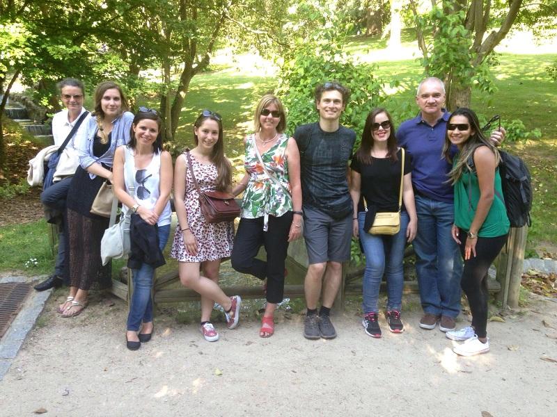 El Retiro con nuestros estudiantes de español