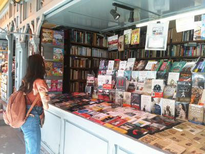 The Cuesta de Moyano book market