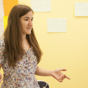 Laura Dominigo, profesora en Cronopios Idiomas